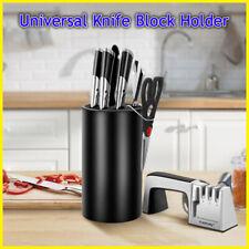 Detachable Universal Knife Block Holder-Unique Design Slot to Protect Blades