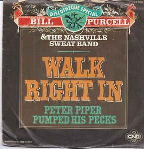 Bill Purcell-Walk Right In vinyl single