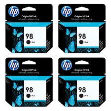 4PK HP 98 Genuine Ink Cartridge C9364WN Officejet 100 6310 h470wbt Deskjet 2016