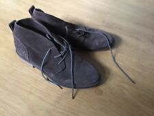 Glorious Brown Suede Boots Size 6