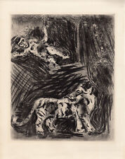 Marc CHAGALL The Monkey and the Leopard