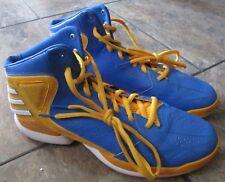 Adidas D Rose 773 Derrick Rose Blue/Yellow Basketball Shoes Men's 14 RARE SAMPLE