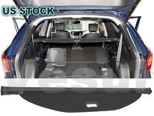 For Hyundai Santa Fe Sport 2016-2018 Rear Trunk Cargo Luggage Shade Cover Black