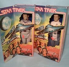 "Star Trek 12""  Mr. Spock and Capt. Kirk  Vintage 1979 MEGO"