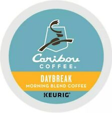 New Caribou Daybreak Morning Blend Coffee K-Cups, 24 count Carton