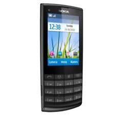 Original Unlocked Nokia X3-02 Touchscreen WIFI 5.0MP 3G Black Cellular Phone