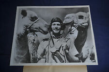 1943 *AUTHENTIC* WW2 Ships of the Desert with a British Flier Press Photo