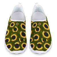 Sunflowers Womens Sneakers Walking Sport shoes Breathable Gym Shoes Soft Sneaker