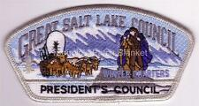Great Salt Lake Council 1997 SA-51 Silver Mylar bdr Winter Quarters Rare Mint