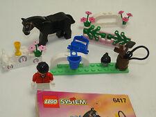 Lego Paradisa 6417 Showjumping Event Springreiter Set komplett mit OBA