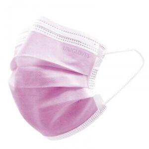 50 Kinder OP Mundschutz in Pink Gesichtsmasken Atemschutz EN 14683 Typ IIR