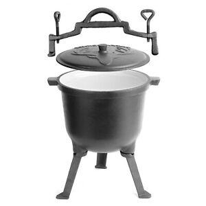 Gusseisenkessel BBQ iron kettle - Feuerkessel  Feuertopf  Eintopfkessel