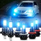 For Hyundai Genesis 2009-2014 Led Headlight Highlow Fog Light Bulbs Combo Kit