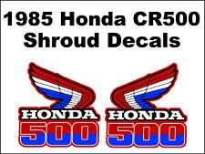 Tank decals for 1985 Honda CR500r Dirtbike    CR500 CR 500 500r