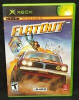 Flatout ! Flat Out Racing  - Original Microsoft Xbox Game 1 Owner Near Mint Disc