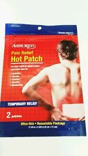 Pain Relief Hot Patch - Assured - Fast Relief of Aches & Pains Due to Arthritis,