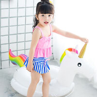Unicorn Inflatable Swim Ring Float Raft Seat Swimming Pool For Kids Baby Toys