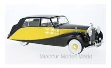 #18066 - MCG Rolls Royce Silver Wraith Empress by Hooper - gelb - 1956 - 1:18