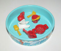 Playmobil Accessoire Décor Piscine Ronde Bleu Ø 8 cm + Jouets pour Enfants NEW