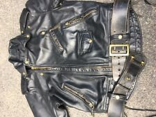 Langlitz Vintage Columbia Leather Motorcycle Jacket