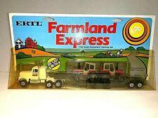 Ertl  Farmland Express  1/64 Scale Equipment Hauling Set   Die-Cast