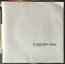 "Albert Lee/Bryn Haworth - A Real Give-Away UK 1979 7"" Sampler A&M Records"