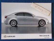"Original Press Promo Photo - 7""x5"" - Lexus - IS - 2005 - B"