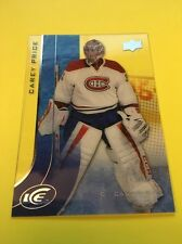 Carey Price Canadiens 2015-2016 Upper Deck Ice #71