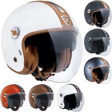 Nexx X70 Groovy Open Face Jet Motorcycle Motorbike Helmet | All Colours & Sizes
