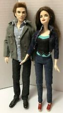 Bella & Edward Cullen Breaking Dawn Set of 2 TWILIGHT Barbie Dolls