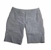 Patagonia Womens Bermuda Walking Shorts Gray Activewear 2
