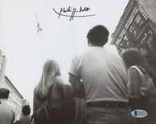 "Philippe Petit Signed ""World Trade Center Walk"" 8x10 Photo (Beckett COA)"