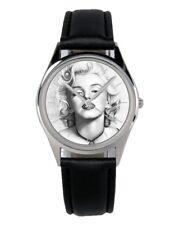 Marilyn MONROE Regalo Fan Articolo ACCESSORI GADGET OROLOGIO 20025-b
