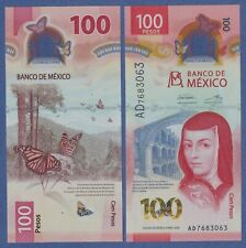 Mexico 100 Pesos (2020) UNC Polymer - IBNS Note of the Year 2020