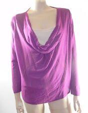 Per Una Cowl Neck Hip Length Casual Tops & Shirts for Women