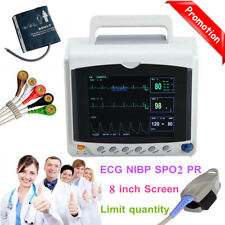 2018 New 8.0 inch Portable Vital Signs ICU Patient Monitor multiParameter CONTEC