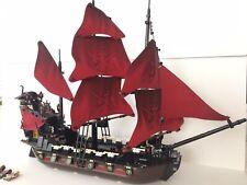Lego Queen Anne's Revenge 4195 Pirate Ship Incomplete