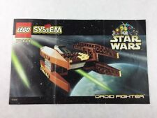 Lego System - Star Wars Set 7111 Instructions Booklet / Manual Only - 1999