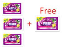 Asahi MINTIA Grape Juice 50 tablets X 3 bags + 1 Free bag ! Shipping From Japan