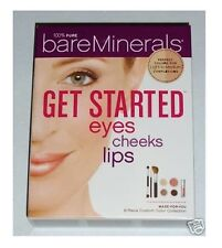 Bare Escentuals bareMinerals GET STARTED EYES CHEEKS LIPS Kit-LIGHT TO MEDIUM