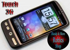 HTC Desire BRONZO (Senza SIM-lock) Smartphone 3g WLAN GPS Radio 5,0mp molto ben OVP