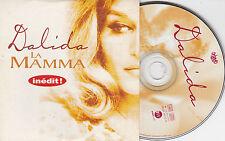 CD CARTONNE CARDSLEEVE DALIDA LA MAMMA 3T DE 1996