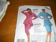 vintage mccalls  6-10 misses dress 2889