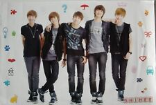"SHINEE ""BAND STANDING BY ICONS"" ASIAN POSTER - Korean Boy Band, K-pop Music"