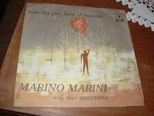 """MARINO MARINI """" NON HA PIU' LUCE IL MONDO - TEL AVIV """" ITALY'63 PETER BESSO"""