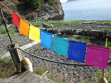 "FAIR TRADE NON-TRADITIONAL HEALING ""SELF-AFFIRMATION BUDDHIST PRAYER FLAGS NEPAL"
