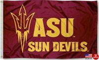 ASU SUN DEVILS FLAG 3'X5' ARIZONA STATE UNIVERSITY 3X5 BANNER NEW FREE SHIPPING
