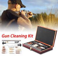 Universal Gun Cleaning Kit Rifle Pistol Handgun Shotgun Firearm Cleaner 28Pcs