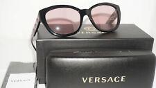 8c246c205fe VERSACE Sunglasses New Black Pink VE4343 GB1 84 56 18 140