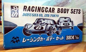 DOYUSHA 1:24 RACING CAR BODY SET BRM  (QTY 1) - NEW OLD STOCK